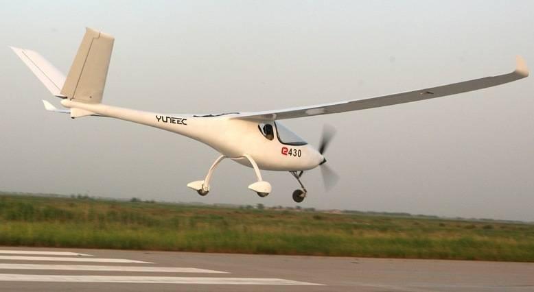 Yuneec E430, el Planeador Eléctrico del Futuro
