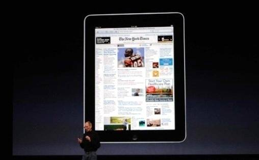 Steve Jobs presento Oficialmente el Apple iPad