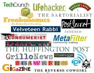 Una Lista de Blogs con Estilos muy Interesantes