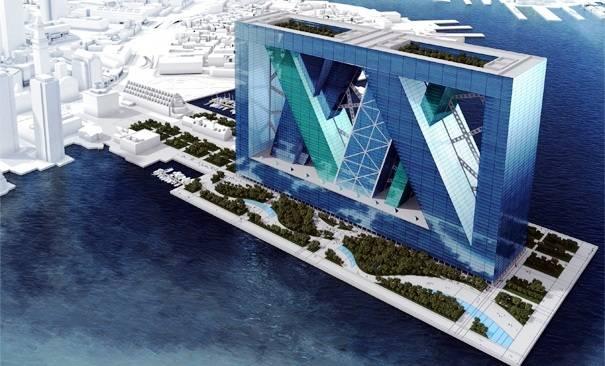 Espectacular Diseño de una Ciudad Flotante en el Futuro