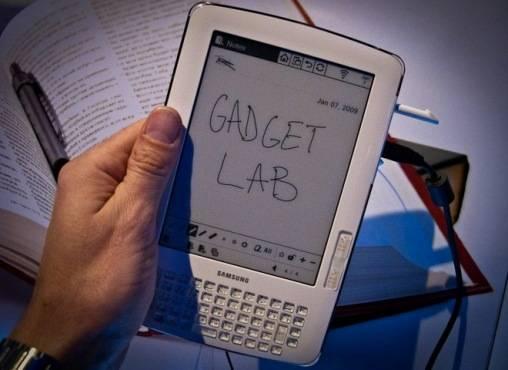 Samsung presenta su e-Book que permite Leer y Escribir