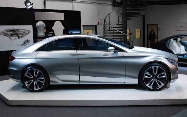 El Nuevo Auto Hibrido Mercedes F800 Style