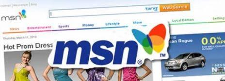 Microsoft Renueva su Portal de Internet MSN