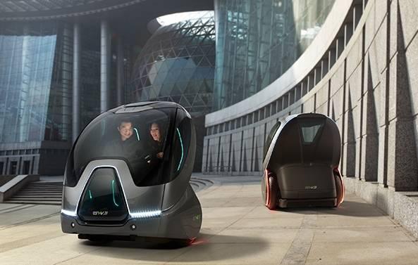 GM y su socio Segway esperan desarrollar coches futuristas