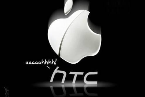 Apple demanda a HTC por Copiar varias Patentes del iPhone