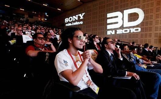 Sony lanzará sus Televisores 3D para el mes de Junio
