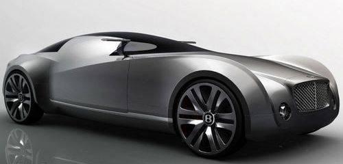 El Bentley y su Moderno Auto del Futuro