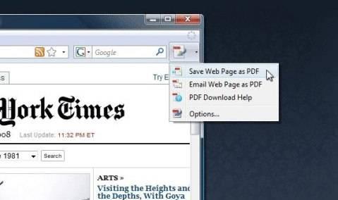 Cómo guardar varias páginas de la Wikipedia en un único PDF