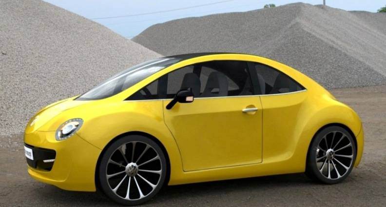Beetle 2012, el futuro Auto Eléctrico de la empresa Volkswagen