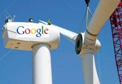 Google y su inversión en el Negocio de la Energía Eólica