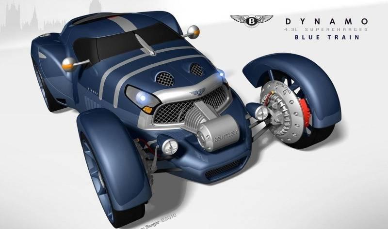 Auto Bentley Dynamo Concept