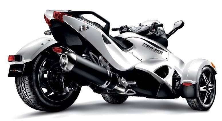 El roadster Can-Am Spyder, un futurista Vehículo de tres Ruedas