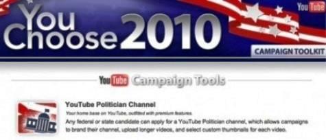 Google ofrece nuevas Herramientas para uso Político