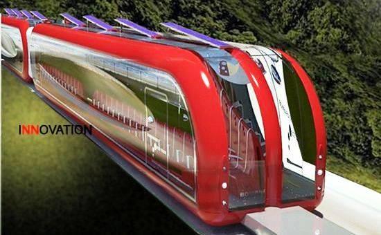 Bombardier Eco 4, Tren de Levitación Magnética que funcionara con Energía Renovable