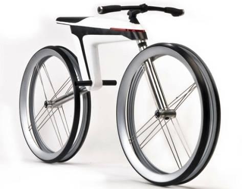 Motocicleta HMK 561 hecha con fibra de carbono y Motor Eléctrico