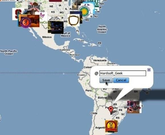 Servicio de Geolocalización en Twitter origina problemas Técnicos