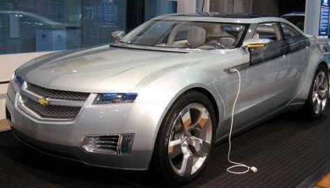 El Auto eléctrico Chevy Volt sale para su Venta