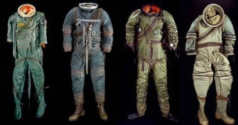 Trajes Espaciales creados por la NASA que han desfilado por la historia