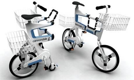 Bicicleta que se transforma en un Carrito de Compras
