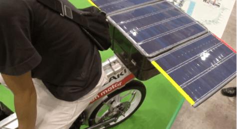 La Solar Bike Fujin: una moderna bicicleta solar y eléctrica japonesa