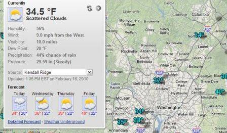 Full Screen Weather: una buena forma de consultar el tiempo