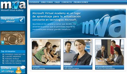 Microsoft Virtual Academy: Aprendizaje especializado en estudio de tecnologías