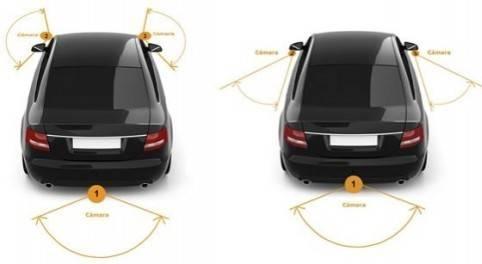 Moderno sistema multicamara Un Unisee 300, mayor seguridad para el Automóvil