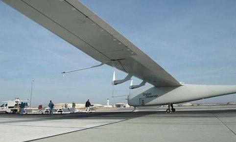 Global Observer; la aeronave que funciona a base de hidrogeno liquido