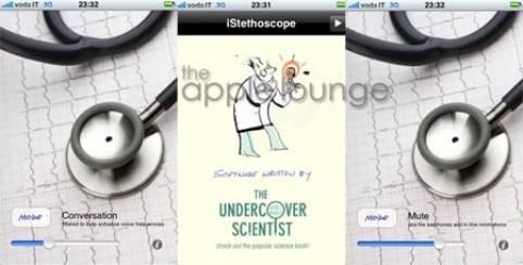 Un estetoscopio instalado en tu iPhone