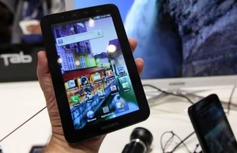El Samsung Galaxy Tab presentado en el IFA 2010