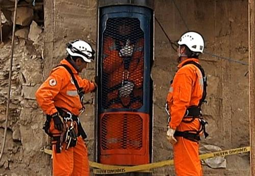 Plan desarrollado para rescatar a los mineros Chilenos