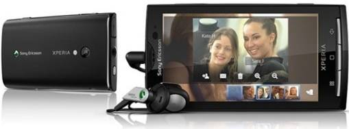 Sony Ericsson actualiza sus teléfonos X10 a Android 2.1