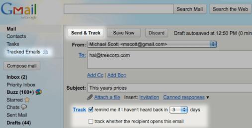 Plugin de seguimiento para nuestro correo en Gmail
