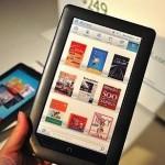 El Nook Color, un eBook con pantalla táctil y a color