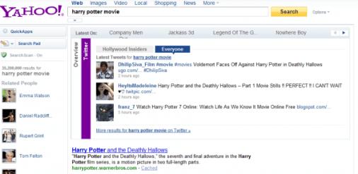 Yahoo actualiza su portal y mejora su sistema de búsquedas