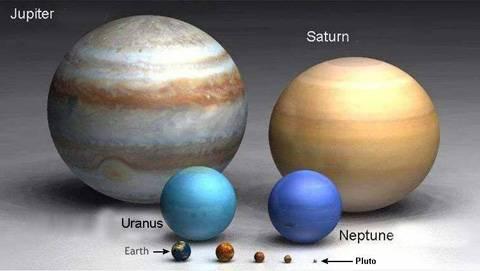 Por qué algunos planetas, como Júpiter, tienen franjas