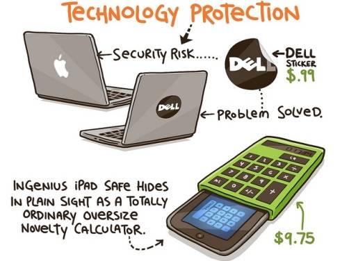Singular idea para proteger tu MacBook y tu iPad de los ladrones