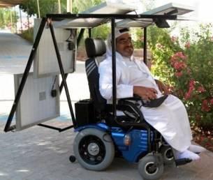 Persona discapacitada pretende viajar 321 kilómetros en Silla de ruedas Solar
