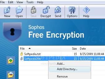 Sophos Free Encryption, aplicación gratuita que protege nuestros archivos y carpetas