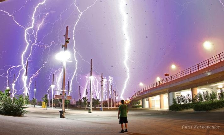 El gran poder de una tormenta eléctrica