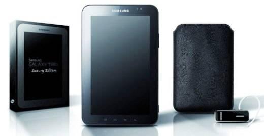 El Samsung Galaxy Tablet se vende ahora en un pack de lujo
