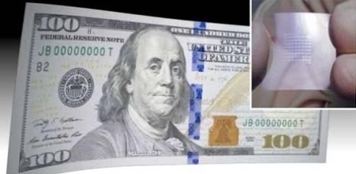 Transistores invisibles protegerán la falsificación de futuros billetes