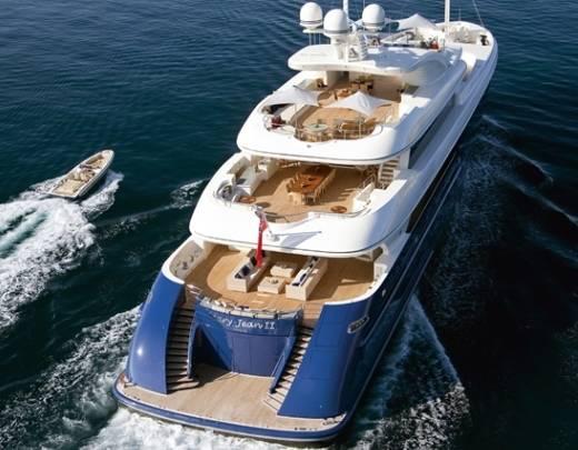 El Yate Isa600 Mary-Jean II, una embarcación de gran tecnología y elegancia
