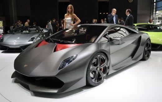 Auto Lamborghini Sesto Elemento Concept