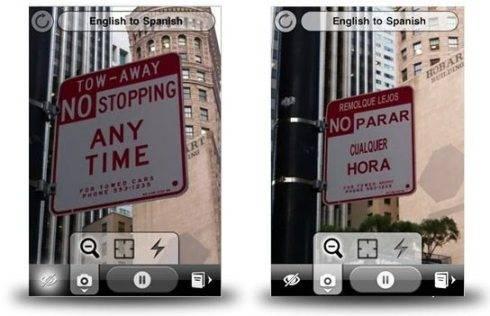 Word Lens, un buen traductor para nuestro iPhone y su cámara