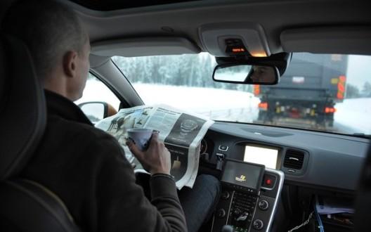 Volvo comienza pruebas basadas en su proyecto SARTRE