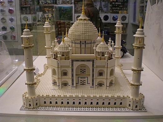 El Taj Mahal en un set LEGO de 5900 piezas