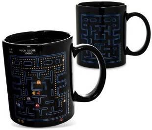 Pacman Heat, una singular taza con nuestro juego favorito