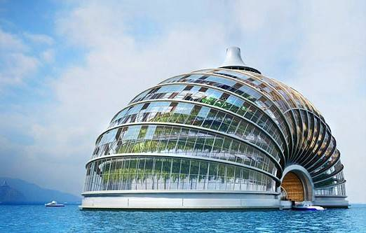 El Arca Flotante, un futuro hotel concepto