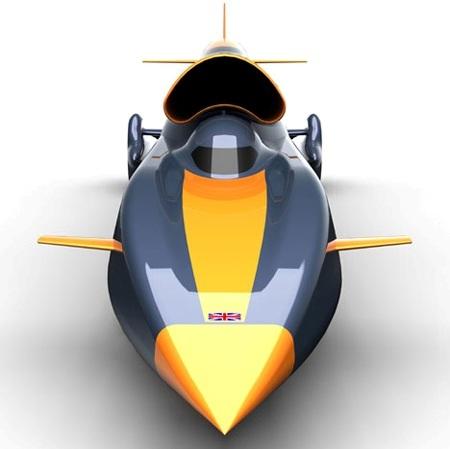 Comenzó la construcción del vehículo terrestre más rápido del mundo